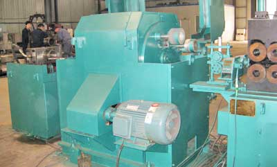 Double-headed abrasive belt mill PM20